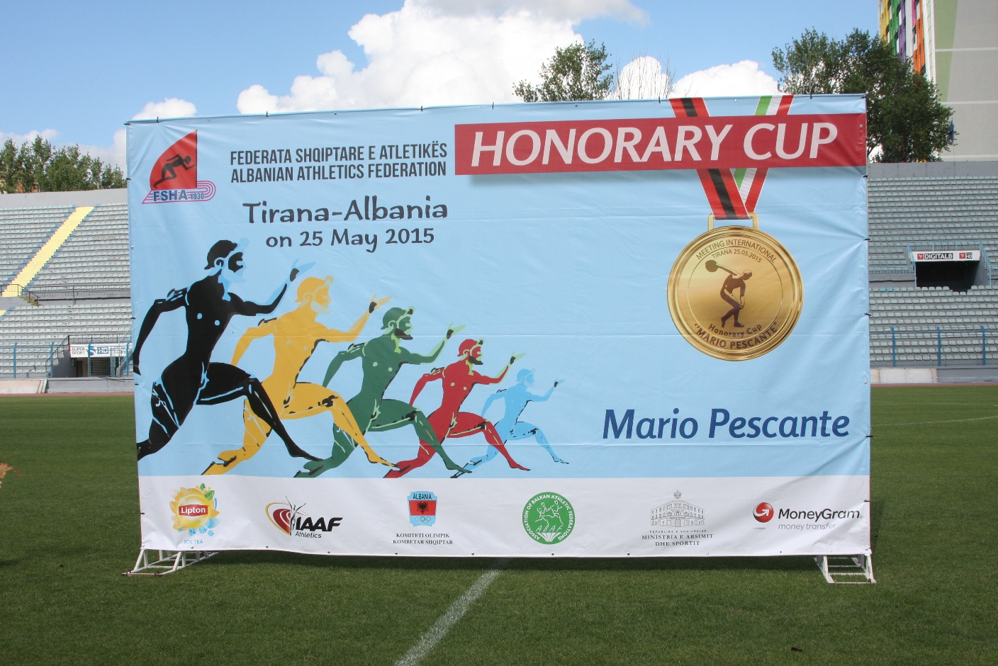 """You are currently viewing International Meeting """"Honorary Cup Mario Pescante"""", Tirana – 25.05.2015"""