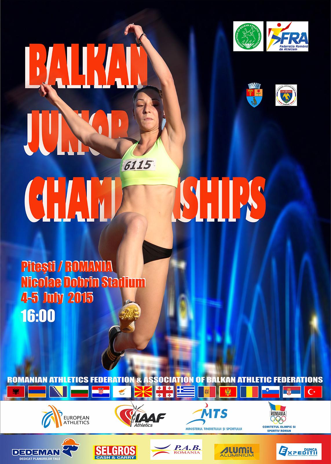 You are currently viewing Balkan Junior Championships Pitesti, Rou 04-05 Korrik 2015